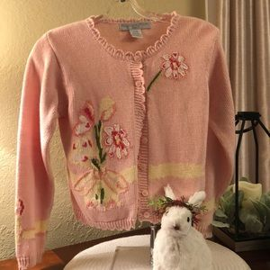 Lovely Girls Sweater by Eagle Eye, size 7-8 Pink